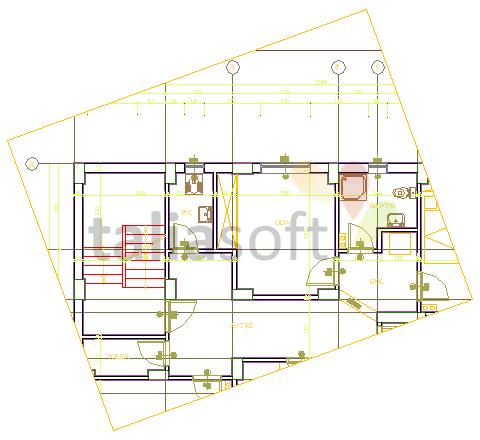 layout-çizim-dondürme